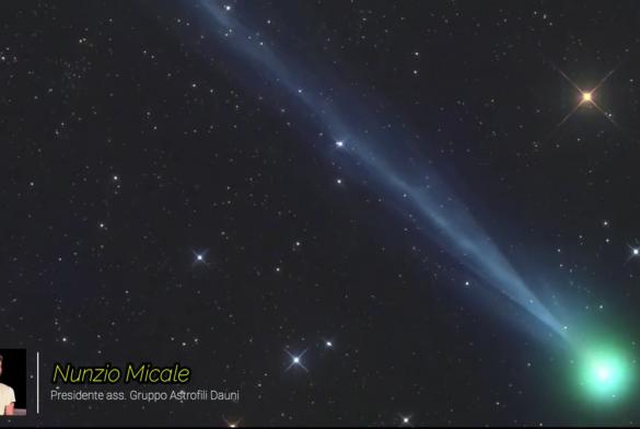 """Una nuova cometa nel cielo: il """"viaggio"""" degli Astrofili continua per Parcocittà"""